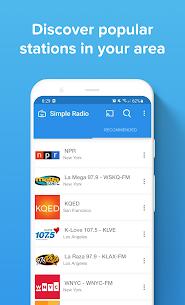 Simple Radio – Free Live AM FM Radio  Music App Apk Download 4