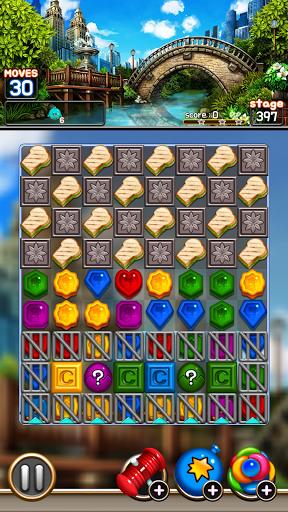 Jewel Royal Garden: Match 3 gem blast puzzle 1.0.1 screenshots 7