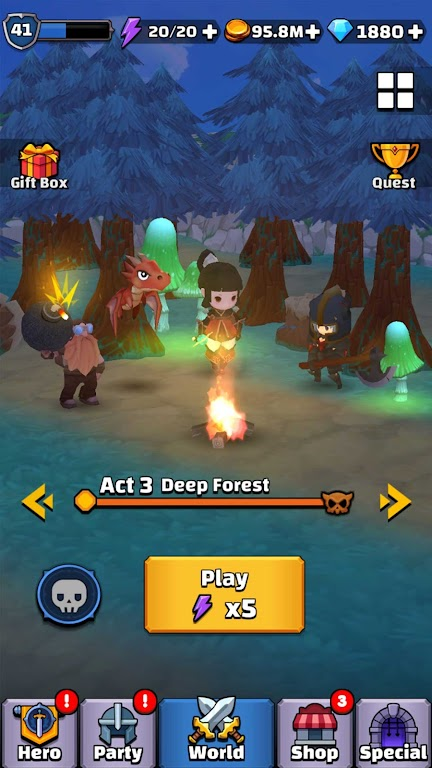 Tiny Fantasy: Epic Action Adventure RPG game poster 5