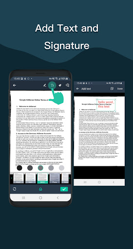Simple Scan - Free PDF Scanner App android2mod screenshots 3
