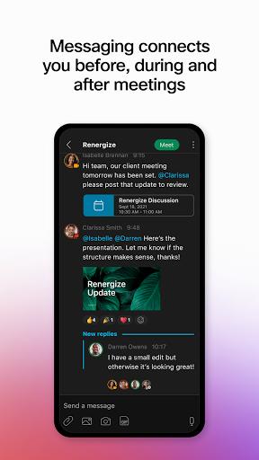 Webex android2mod screenshots 4