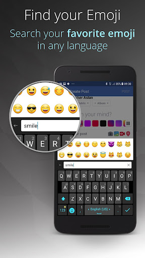 Ginger Keyboard - Emoji, GIFs, Themes & Games 9.4.3 Screenshots 4