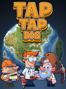 Tap Tap Dig - Idle Clicker Game Screenshot