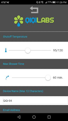 QiQi Smart Shower  screenshots 2
