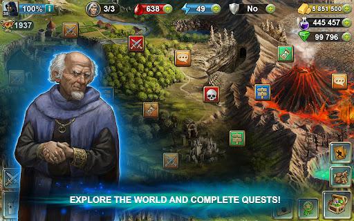 Blood of Titans: Quest & Battle Fantasy ccg 1.19 screenshots 21