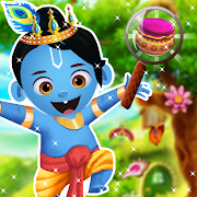 Lord Krishna Hidden Object Puzzle Game