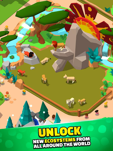 Idle Zoo Tycoon 3D - Animal Park Game APK MOD (Astuce) screenshots 5