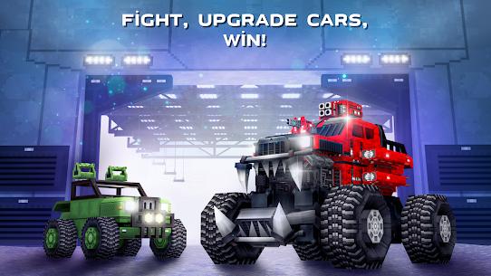 Blocky Cars – pixel shooter, tank wars 5