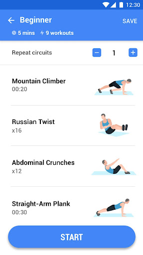 Abs Workout - 30 Day Ab Challenge 1.0.4 Screenshots 4