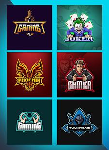 Logo Esport Maker - Create Gaming Logo with Name 0.5 Screenshots 1