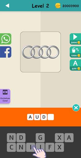 Logo Test: Germany Brands Quiz, Guess Trivia Game  screenshots 5