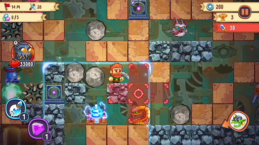 Dig Out! - Gold Digger Adventure  screenshots 14