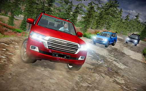 Offroad Prado Car 4X4 Mountain Drift Drive 3D goodtube screenshots 1