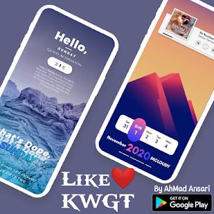 Like ❤️ KWGT (MOD, Paid) v6.0 1