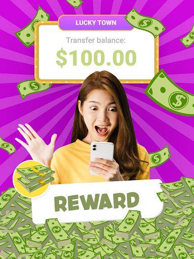 Lucky Town: Merge & Win ud83dudcb0 screenshots 10