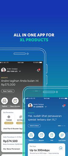 myXL – Cek Kuota & Beli Paket XL 5.3.2 screenshots 1
