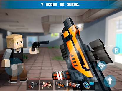Mad GunZ -  battle royale & juego de disparos Screenshot