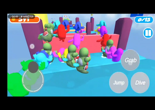Fall Dudes Ultimate Knockout - 3D Challenge Game 1.0.4 screenshots 14