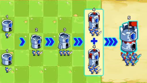 Save The Kingdom: Merge Tower  screenshots 1