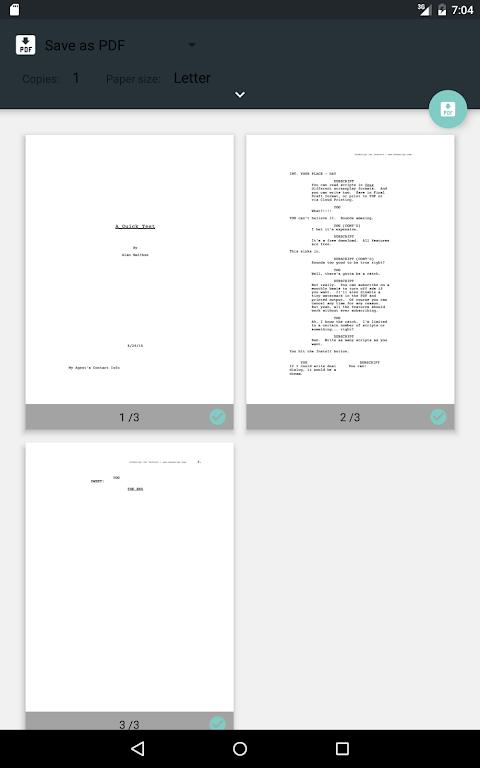 DubScript Screenplay Writer  poster 11