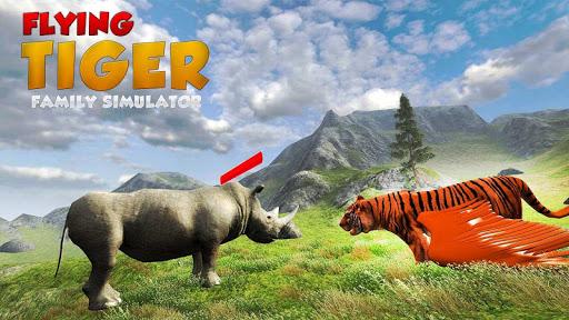 Flying Tiger Family Simulator Game 1.0.6 screenshots 3