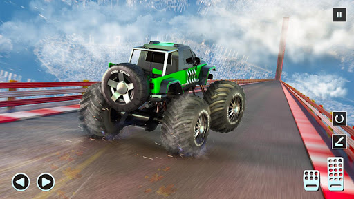 Télécharger Monster Truck Mega Ramp - Extreme Stunts GT Racing apk mod screenshots 2