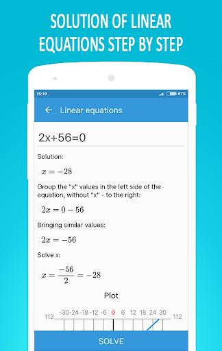 Math Equation Solver 4.5 screenshots 1