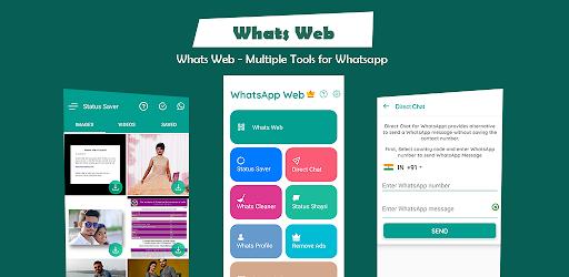 Whats Web For Whatsapp Web Scan Status Saver برنامه ها در Google Play