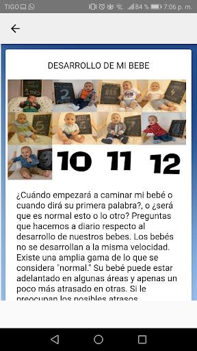 desarrollo y cuidado de bebes mes a mes concejos 3.2 Screenshots 5