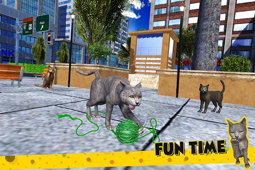 Cat Family Simulator: Stray Cute Kitty Game 10.1 screenshots 5