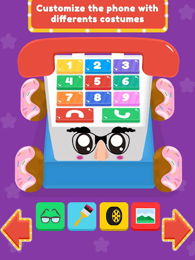 Baby Carphone Toy. Kids game apkslow screenshots 13