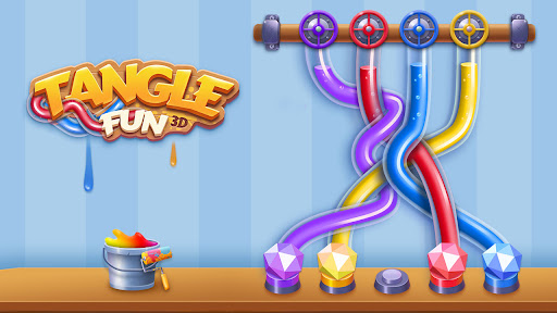 Tangle Fun 3D - Can you untie all knots? 2.8.0 screenshots 1