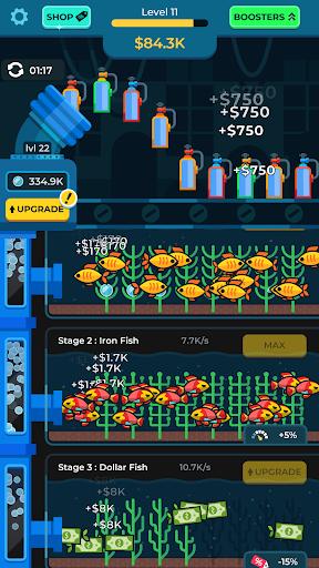 Idle Fish Aquarium 1.7.0 screenshots 2