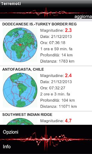Terremoti ed alert  Screenshots 10
