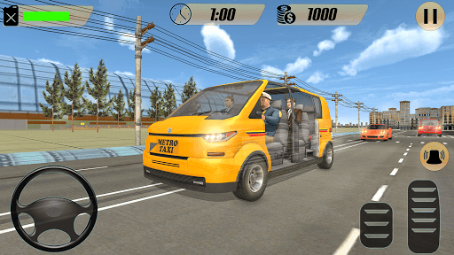 Modern Taxi Driving Game: City Airport Taxi Games  screenshots 5