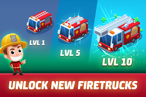 Idle Firefighter Tycoon - Fire Emergency Manager 0.14 screenshots 8