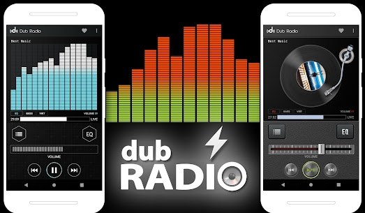 Dub Radio Pro v1.62 MOD APK – Free Music, News & Sports 1