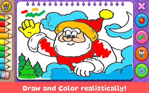 Christmas Coloring Book screenshots 9