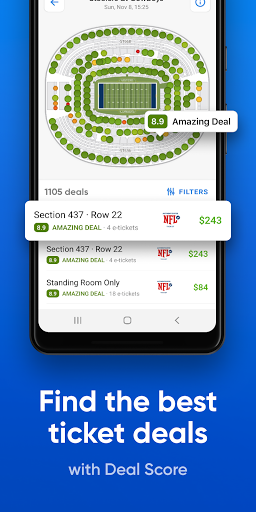 SeatGeek u2013 Tickets to Sports, Concerts, Broadway 2021.02.02322 Screenshots 4