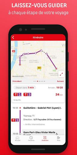 Lyon Public Transport  screenshots 3