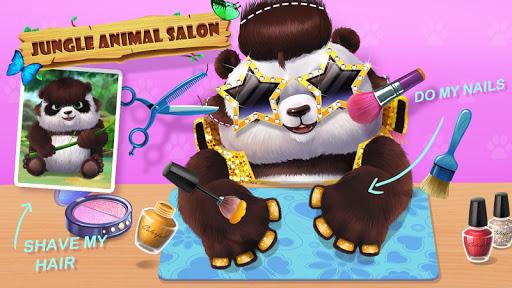 ud83eudd81ud83dudc3cJungle Animal Makeup apktram screenshots 4