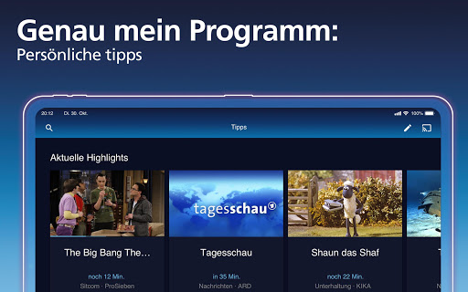 o2 TV powered by waipu.tv u2013 Live TV Streaming screenshots 11