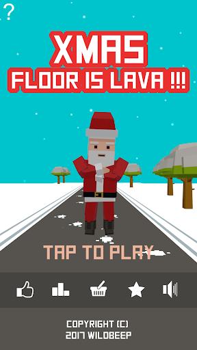 Xmas Floor is Lava !!! Christmas holiday fun ! apkpoly screenshots 1
