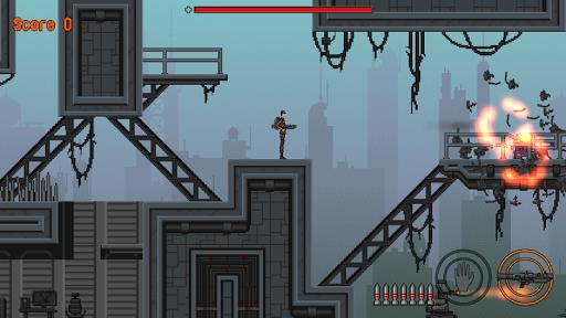 slip gear: 2d pixel platformer screenshot 1