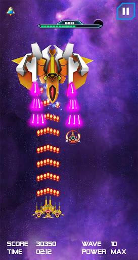 space hunter alien shooter war galaxy striker screenshot 2