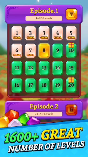Jewels and Gems Blast: Fun Match 3 Puzzle Game 1.0.24 screenshots 5
