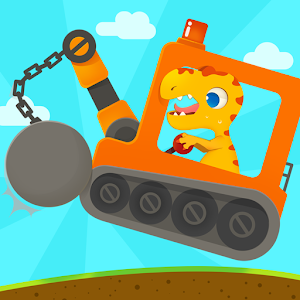 Dinosaur Digger 3  Truck Simulator Games for kids