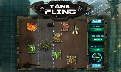 tank fling game screenshot 3