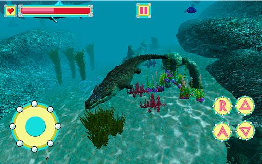 Underwater Crocodile Simulator u2013 Crocodile Games 1.3 screenshots 4
