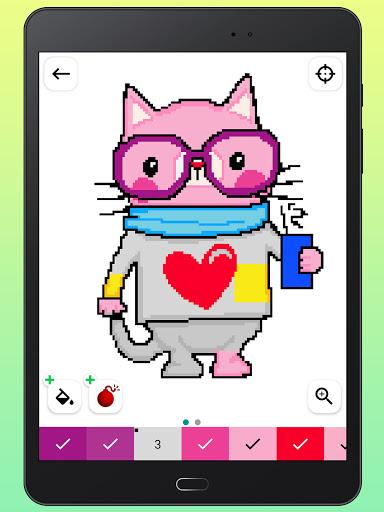 Color By Number - Unicorns Pixel Art apkdebit screenshots 13